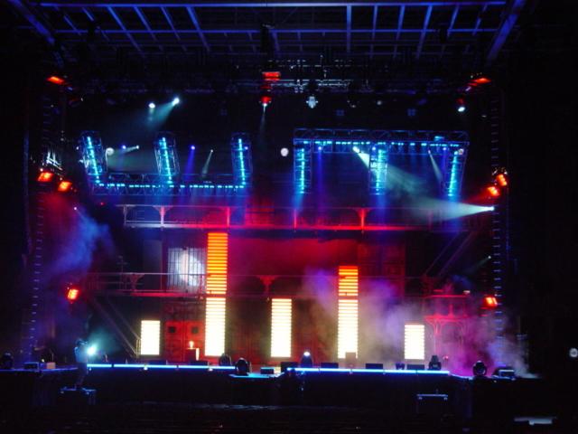 lighting for eminem anger management tour